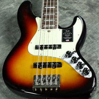 Fender American Ultra Jazz Bass V Rosewood Fingerboard Ultraburst【WEBSHOP】