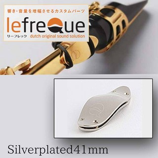 LefreQue Silver plated 41mm