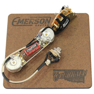 Emerson CustomT3-250K 3-WAY TELECASTER PREWIRED KIT 250K 配線済サーキット