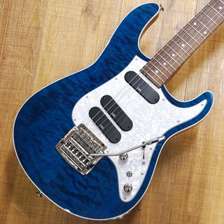 "Kz Guitar Works Kz ST 3S6 KAHLER  ""See-through Blue""【ショッピングクレジット48回無金利!!】"