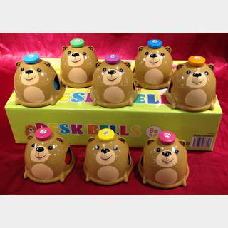 KYORITSU MB-8DB Bear Desk Bells