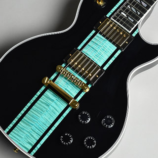 Gibson Custom Shop Les Paul Custom Figured Aqua Blue Scorpion S/N:CS801093 【現地オーダー品】 【未展示品】