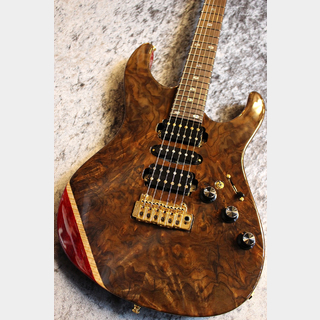 FREEDOM CUSTOM GUITAR RESEARCH Custom Order HYDRA 24F Mahogany Body Claro Walnut Burl & Flame Maple Top 【月刊ハイドラ第九弾】