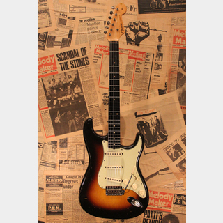 "Fender 1959/60 Stratocaster ""Slab Board"" Two Tone Sunburst"