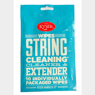 Kyser STRING CLEANING CLEANER&EXTENDER [K100WIPE STRING CLEANING] 10setPACK