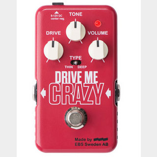 EBS DRIVE ME CRAZY Hi Gain Distortion イービーエス ディストーション  【お取り寄せ商品】【WEBSHOP】