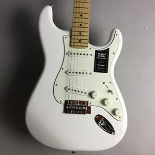 Fender Player Stratocaster/Maple Fingerborad/ Arctic White【下取りがお得!】