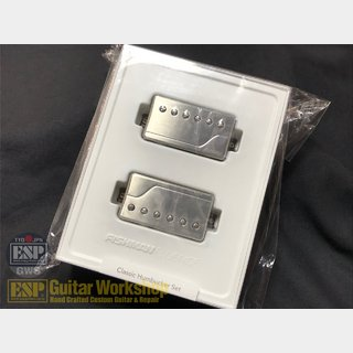 FISHMANFluence Classic Humbucker Set Brushed Stainless