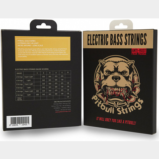Pitbull Strings for 6strings E.Bass (Light)【送料無料】