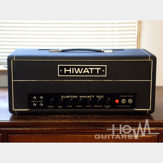 Hiwatt1974年製 DR-103 AP CUSTOM 100 Head [HYLIGHT-Era]