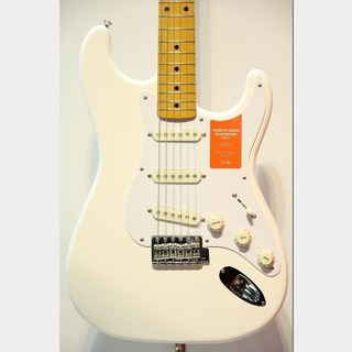 Fender Made in Japan Traditional 50s Stratocaster / Arctic White★GWプレセール!26日(金)まで★