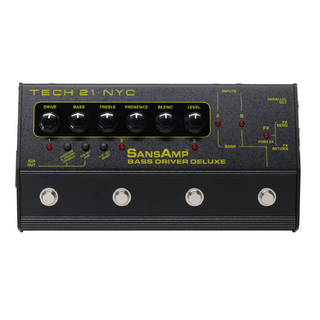 Tech 21 PBDR PROGRAMMABLE BASS DRIVER