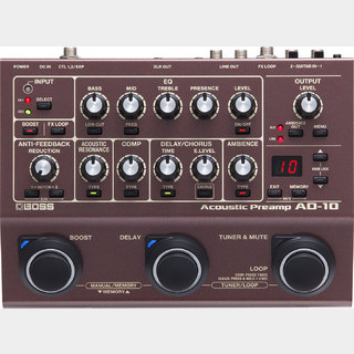 BOSS AD-10 Acoustic Preamp 【未開封箱ボロ品】