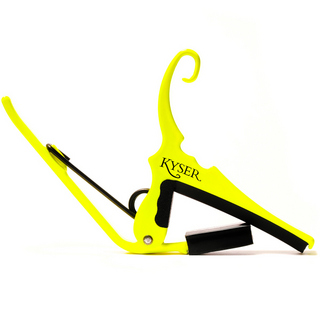 Kyser KG6NYA [QUICK-CHANGE CAPO] (NEON YELLOW)