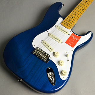 Fender MADE IN JAPAN TRADITIONAL 58 STRATOCASTER Sapphire Blue Transparent