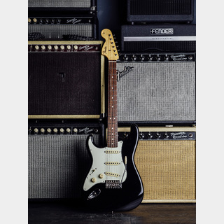 Fender FENDER STRATOCASTER SEATTLE, ROSEWOOD FINGERBOARD(BLACK)※ギター・マガジン「シアトル」