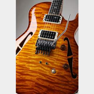 "Paul Reed Smith(PRS) Private Stock #4689 Neal Schon 15"" FB with 24Frets Honey Gold Glow Smoked Burst NAMM2014展示モデル"