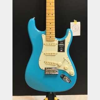 Fender American Professional II Stratocaster Maple / Miami Blue 【#8】★20000円のSPサービス★