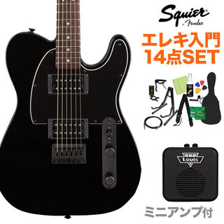 Squier by Fender FSR AFFINITY TL HH BLK エレキ14点セット 【ミニアンプ付き】 島村楽器限定