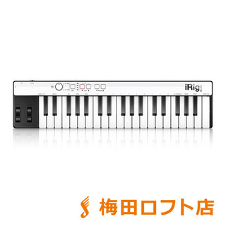 IK Multimedia USB MIDIキーボード 37鍵盤 iRig KEYS with Lightning 【IKマルチメディア】