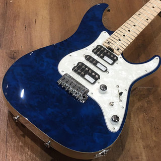 SCHECTER SD-2-24-VTR-AS-MW/M/SEE THRU BLUE【スポット生産品】