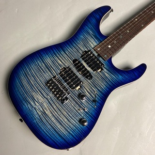 T's Guitars DST-24 MAHO CUSTOM EX / Trance Blue Denim Burst