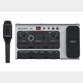 ZOOM V6 All-in-One Vocal Processor 【未開封品 即納できます!】