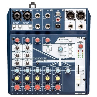 Soundcraft Notepad-8FX ミキサー