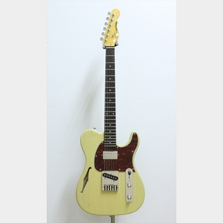 G&L ASAT Classic Bluesboy Semi-Hollow, Rosewood Fingerboard / Blonde