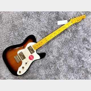 Squier by Fender Classic Vibe '70s Telecaster Thinline 3-Color Sunburst 【展示入替特価】【2020年製】