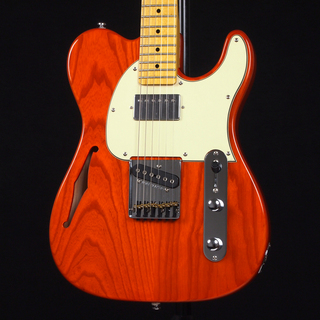 G&L Tribute Series ASAT Classic Bluesboy Semi-Hollow Clear Orange