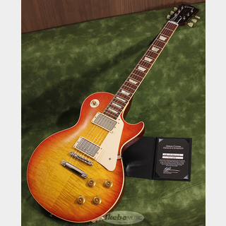 Gibson Custom Shop Historic Collection 1959 Les Paul Standard Reissue Gloss Hand Selected Washed Cherry S/N 911288
