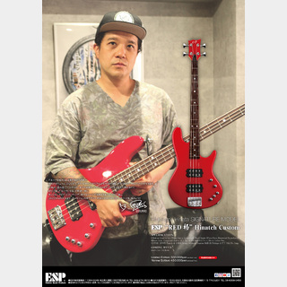 "ESP ""RED 極"" Hinatch Custom -Normal Edition-"