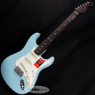 "Fender USA Limited Edition American Professional Stratocaster ""Solid Rosewood Neck"" (Daphne Blue)"