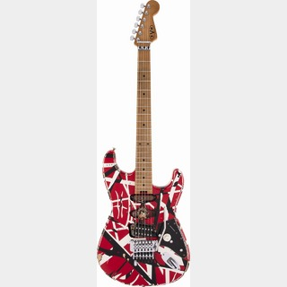 EVH 【ハードケースセット‼】Striped Series Frankie  / -Red with Black Stripes- Relic【ヴァン ヘイレン】
