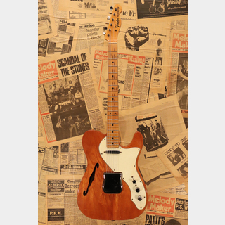"Fender 1968 Telecaster Thinline ""Mahogany Body with Maple Cap Neck"""