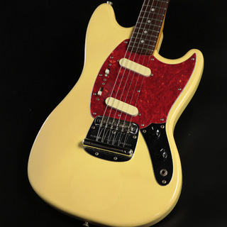 Fender Japan Mustang MG69-65 【JUNK品】 Yellow White 【心斎橋店】