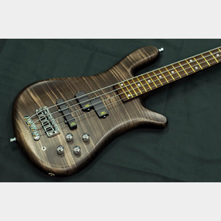 "Warwick Custom Shop Streamer LX 4st ""Nirvana Black / with Blue LED"""