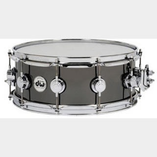 dwDW-BNB1455SD/BRASS/C Collector's Metal Snare / Black Nickel Over Brass