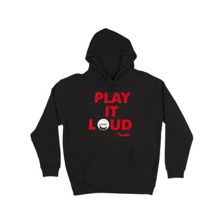 Fender Play it Loud Hoodie Black XLサイズ パーカー