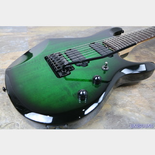 Sterling by MUSIC MAN JP70 Translucent Green Burst