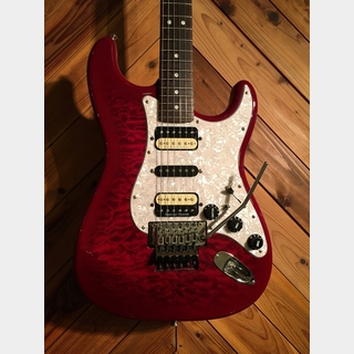 Fender Japan HST-72 FRT/HSH See Through Red