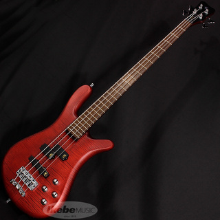 "Warwick German Team Built Streamer Stage I 4st ""Flame Maple"" (Burgundy Red Transparent Satin)"