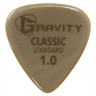 Gravity Guitar Picks Gold Classic -Standard- GGCLS10 1.0mm ピック