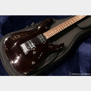 T's Guitars {BUG} DST-Pro24 Carved Mahogany - Trans Black -
