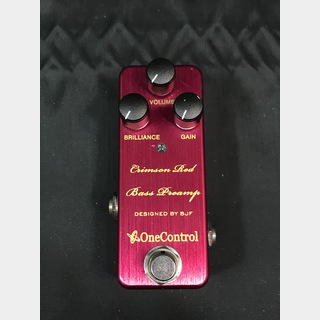 ONE CONTROLCrimson Red Bass Preamp