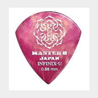 MASTER 8 JAPANINFINIX-U JAZZ with Hard Grip 0.88mm [IFU-JZ088] ×10枚セット