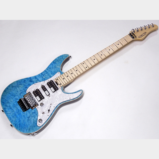 SCHECTERSD-2-24-AL / Aqua Blue / Maple Fingerboard