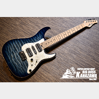 SCHECTER AD-DX-24-AS-FXD/M  BLSN【SDシリーズの最上位限定モデル】