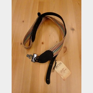 Martin WOVEN STRAP Black Leather Ends 18A0066